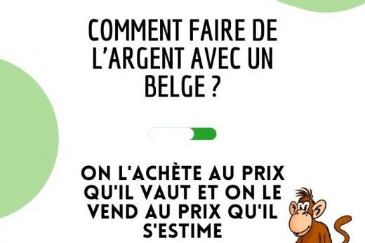 Blague drôle belge