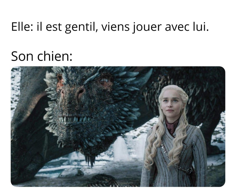 meme drole game of throne